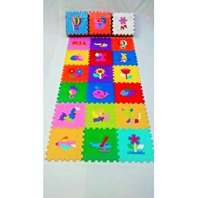 391fc595048 Tapete Eva Infantil Tatame Figuras Colorido 18 Peças Mingone no Mercado  Livre Brasil