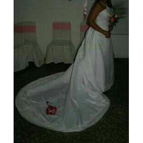 Vestido De Novia Blanco Hermoso!