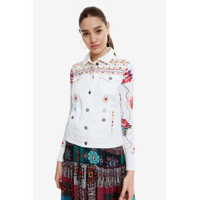 Chaqueta Dama Blanca Textil Desigual