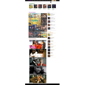 Tema Wordpress Portal De Músicas Downloads