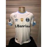 Camisa Grêmio Game Branca Libertadores 2018  7 Luan e1d512561b9d7