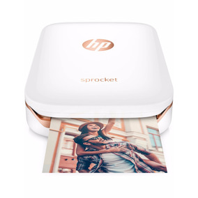 Impresora Fotográfica Hp Sprocket Portatil Zink Bluetooth