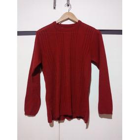 Sweater Largo Rojo De Lana - Ropa y Accesorios en Mercado Libre ... b8f4b62a3b99