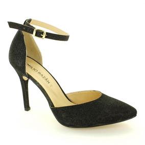 Zapatilla Para Mujer Emilio Bazan Cr7015-033871 Color Negro