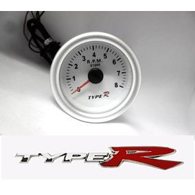 Relógio Tacômetro Conta-giros Rpm Com Led X1.000 52mm