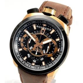 Reloj Bomberg Nuevo Bolt 68 Bs45chtt Correa De Piel $12500