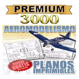 Planos Radiocontrol Aeromodelismo 3000 Aviones Radio Control