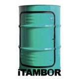 Tambor Decorativo Com Porta - Receba Em Aratuba