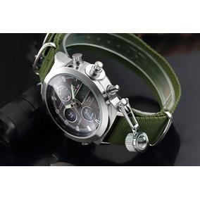 Reloj Hombre Goldenhour Militar,digital Analógico 2019
