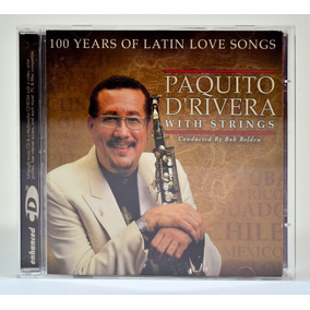 Cd - Paquito D Rivera With Strings