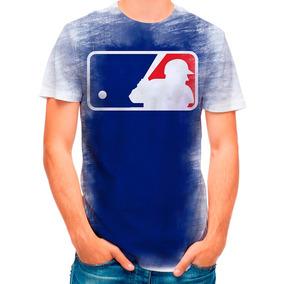 Camisa Camiseta Liga De Beisebol Mlb Major 2555 · R  35 90 178f5439f7f