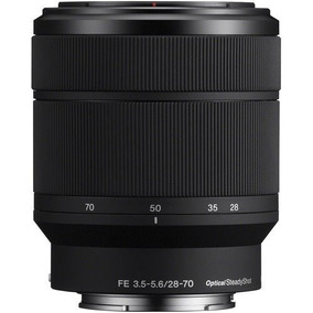 Lente Sony Fe 28-70mm F3.5-5.6 Oss (lente Do Kit Sony A7iii)