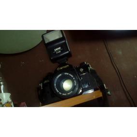Camara Canon A-1 Cámara Canon Modelo A1 De Rollo