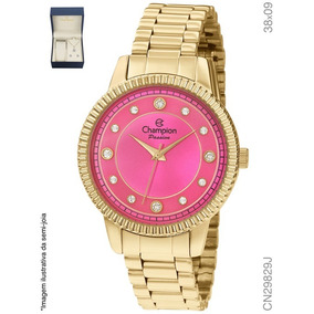 bd28b669ce9 Relogio Feminino Dourado - Relógio Champion Feminino em Tocantins no ...