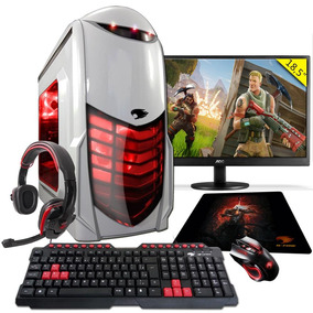 Pc Gamer G-fire A6 7400k 8gb R5 2gb Integrada 1tb Moni 18,5