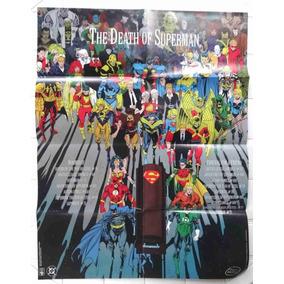Poster The Death Of Superman Morte Do Super Homem 1992 Abril