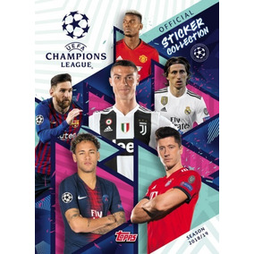 Lote 100 Figurinhas Do Álbum Champions League 2018/2019 !!
