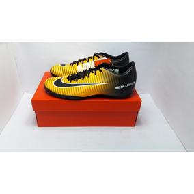 1640be669ce51 Chuteira Futsal Mercurial Nike - Chuteiras para Futsal Preto no ...
