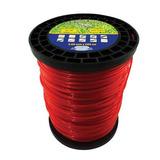 Carretel Fio De Nylon 3,00mm Rolo 248mt 2,2kg Vermelho