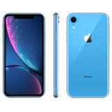 Smartphone Apple iPhone Xr 256gb 3gb Ram 12mp Tela 6.1 Azul