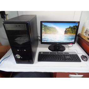 Computador Core 2 Quad Completo Barato + Monitor