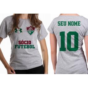 e3c67979c0223 Flamula Do Fluminense - Camisetas e Blusas Manga Curta para Feminino ...