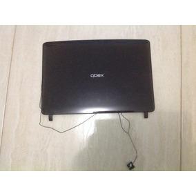 Carcaça Da Tampa E Moldura Do Notebook Qbex Nx520