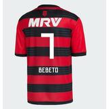 Camisa Bebeto Flamengo 2018-2019 Original Nova Frete Gratis f72f204617790