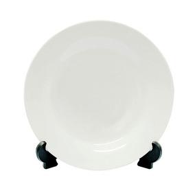 Plato Para Sublimación Ceramica 25cm Con Base 5 Pack Envío 3fc7052671e0