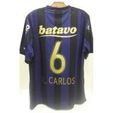 Camisa Corinthians Iii 2009 Nº 6 Roberto Carlos