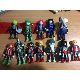 12 Playmobil Zumbis+dragao