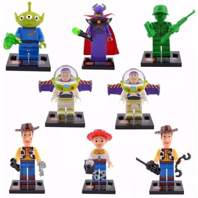 Kit 8 Personagens Lego Toy Story