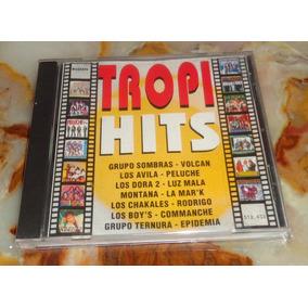 Tropi Hits - Rodrigo - Grupo Sombras - Luz Mala - Cd Arg.