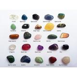 Coleção 25pedras Preciosas Diferentes Minério Gemas+apostila