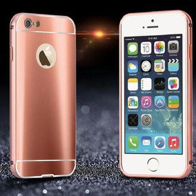 For Iphone 6 4.7 - Rose Gold - Lujo Aluminio Ultra Met-9627