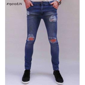 3e317f4404 Jeans Rotos Para Gorditas - Ropa y Accesorios Azul marino en Mercado ...