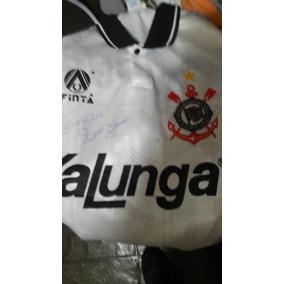 Colecionador - Camisa Autografada Do Corinthians
