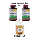 2 Glucosamina 1500 Mg Msm 1500mg + Ácido Hialuronico 150 Tab