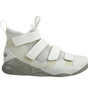 premium selection dc4a8 eadc6 Tenis Nike Lebron James Soldier Xi Blanco Envio Gratis