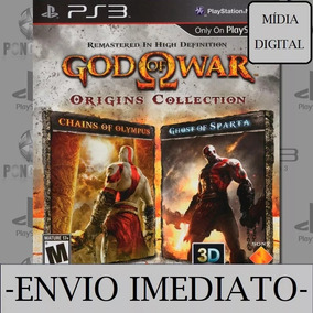 God Of War Origens Collection Psn Ps3 Mídia Digital Original