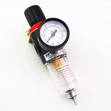 Filtro De Ar Regulador De Pressão 1/4 Compressor Pintura