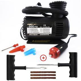 Mini Compressor Ar Automotivo Portátil 300psi 12v Fret Grats