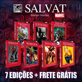Pacote Marvel 7 Salvat Capa Vermelha - Promoção Frete Grátis