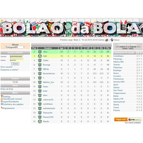 Sistema De Bolão Aposta Esportivas - 7 Dias Teste Grátis