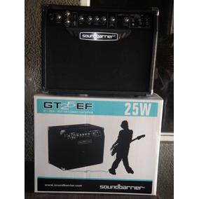Amplificador Para Guitarra De 25wts Marca Soundbarrier