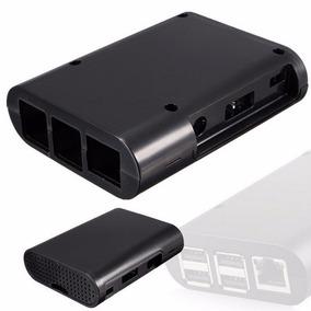 Case Raspberry Pi 3 + Plastico Abs Box Caixa Preto