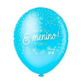 Baloes Art Latex E Um Menino - Decoração de Festa no Mercado Livre ... 0569789a6a960
