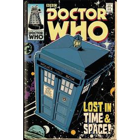 Doctor Who Poster Licenciado Alt. 61cm Larg 91 Cm Peça Raro