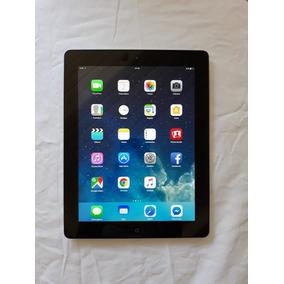 Ipad 4 Modelo A1458 16gb - Preto/prata - Wi-fi - Tela Retina