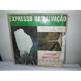 Lp Expresso Da Salvação Cantam Ageu E Sara 1971 Ja50